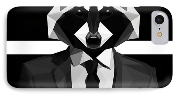 Racoon IPhone Case by Gallini Design