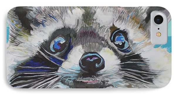 Racoon IPhone Case by Jamie Downs