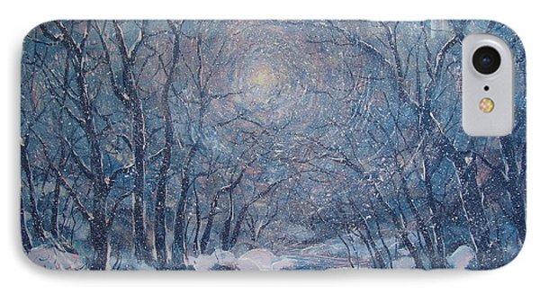 Radiant Snow Scene IPhone Case