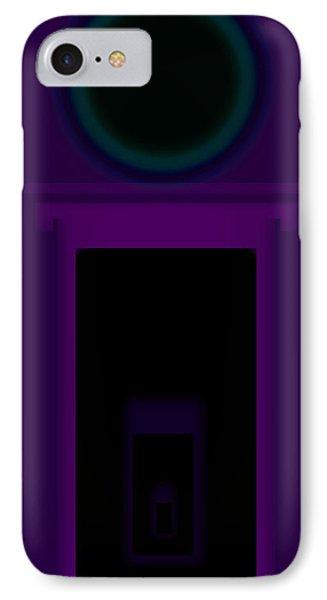 Radio Purple Palladio Phone Case by Charles Stuart
