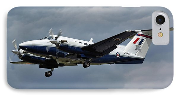 IPhone Case featuring the photograph Raf Beech King Air 200  by Tim Beach