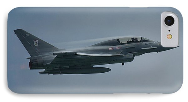 IPhone Case featuring the photograph Raf Eurofighter Typhoon T1  by Tim Beach