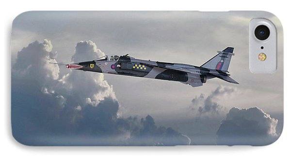 IPhone Case featuring the photograph Raf Jaguar Gr1 by Pat Speirs