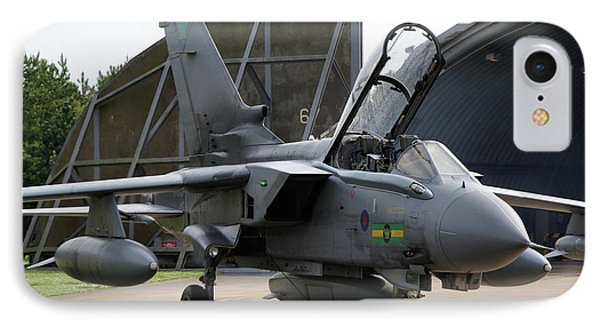 IPhone Case featuring the photograph Raf Panavia Tornado Gr4 by Tim Beach