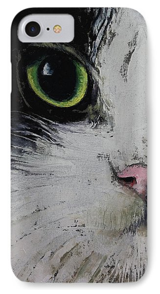Tuxedo Cat IPhone Case