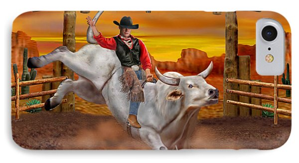 Ride 'em Cowboy IPhone Case