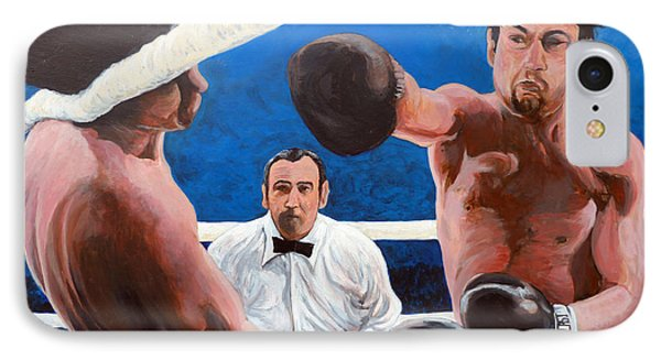 Raging Bull IPhone Case by Tom Roderick