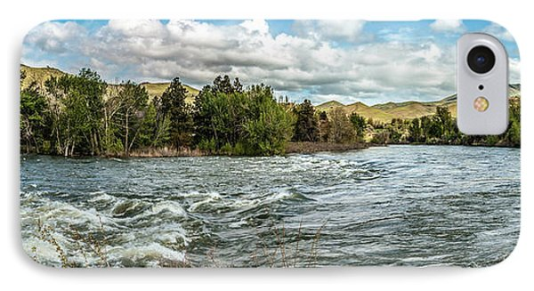 Raging Payette River IPhone Case by Robert Bales