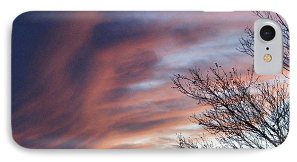 IPhone Case featuring the photograph Raging Sky by Barbara Griffin