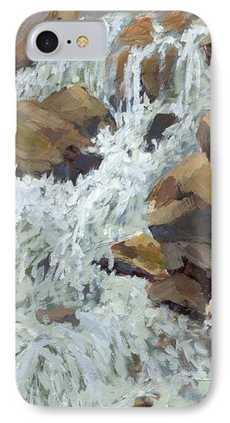 Raging Water IPhone Case by David King