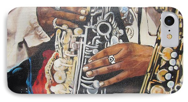 Rahsaan Roland Kirk- Jazz IPhone Case by Sigrid Tune