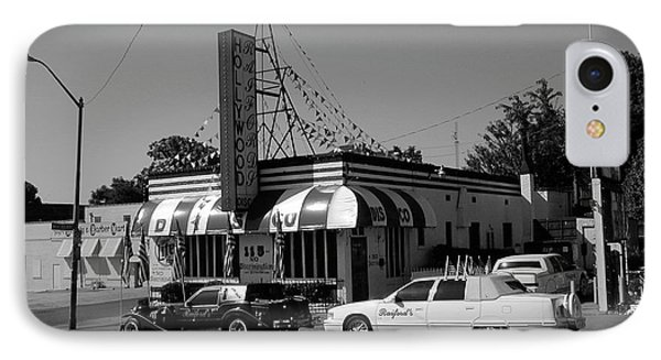 IPhone Case featuring the photograph Raifords Disco Memphis A Bw by Mark Czerniec
