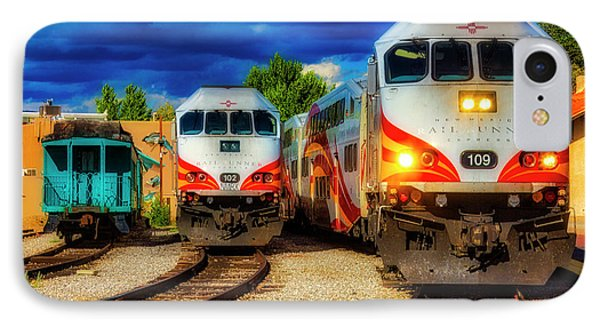 Roadrunner iPhone 7 Case - Rail Runner Express by Garry Gay