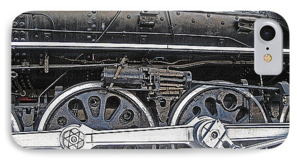 Railroad Museum 2 Phone Case by Steve Ohlsen