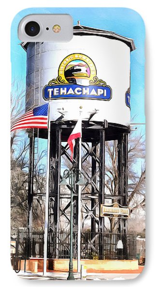 IPhone Case featuring the photograph Railroad Park Tehachapi California by Floyd Snyder