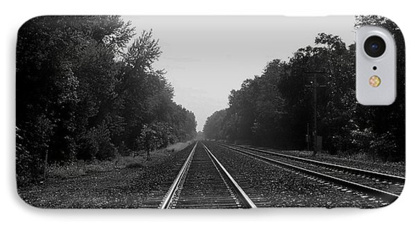 Railroad To Nowhere IPhone Case by Trish Tritz