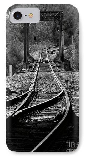IPhone Case featuring the photograph Rails by Douglas Stucky