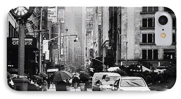 Rain - New York City IPhone Case