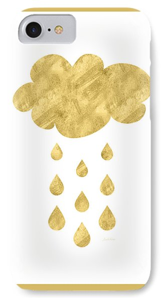 Rain Cloud- Art By Linda Woods IPhone Case