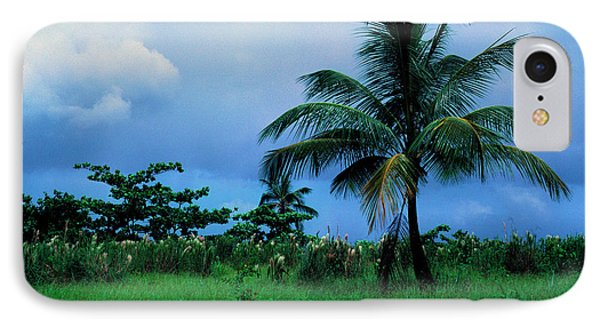 Rain Cloudsover Dominica Phone Case by Thomas R Fletcher