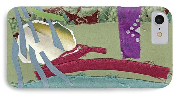 Rain In Late October Phone Case by Eileen Hale