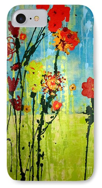 IPhone Case featuring the painting Rain Or Shine by Ashley Price