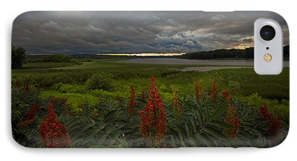 Rain Over The Mohawk IPhone Case