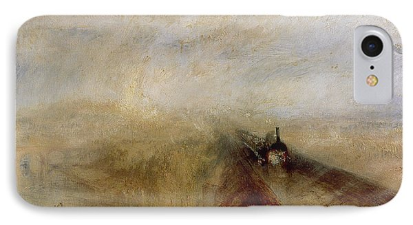 Rain Steam And Speed IPhone Case by Joseph Mallord William Turner