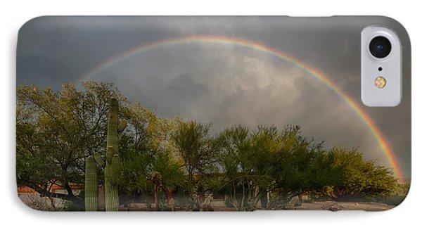 IPhone Case featuring the photograph Rain Then Rainbows by Dan McManus