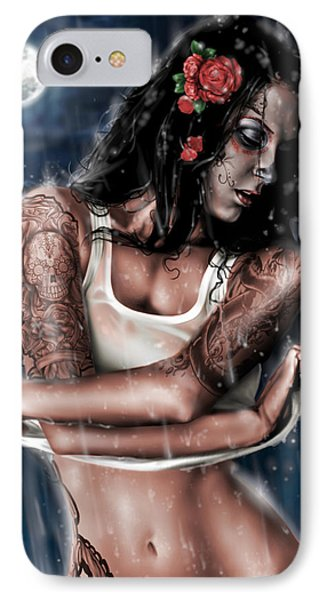 Rain When I Die IPhone Case by Pete Tapang