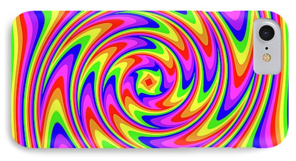 IPhone Case featuring the digital art Rainbow #2 by Barbara Tristan