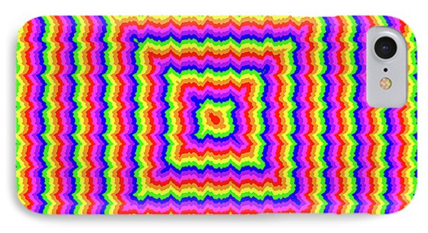 IPhone Case featuring the digital art Rainbow #3 by Barbara Tristan