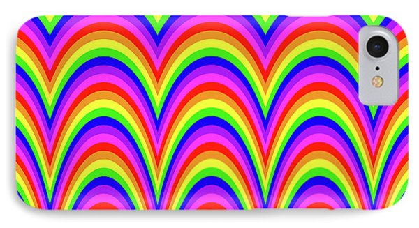 IPhone Case featuring the digital art Rainbow #4 by Barbara Tristan