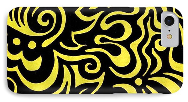 Rainbow Abstract 3 Of 6 IPhone Case by Mandy Shupp