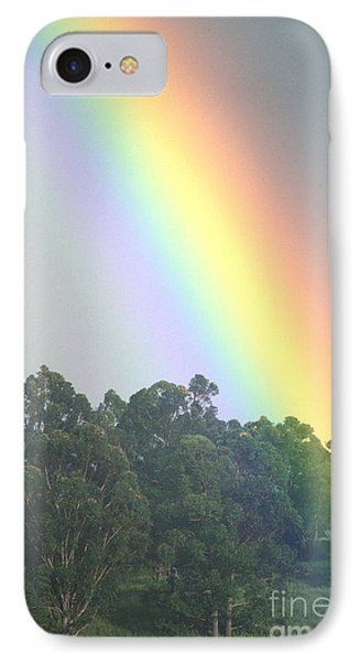 Rainbow And Misty Skies Phone Case by Erik Aeder - Printscapes