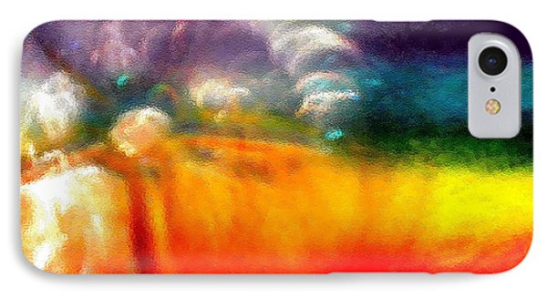 IPhone Case featuring the photograph Rainbow Bliss #052833_ii by Barbara Tristan