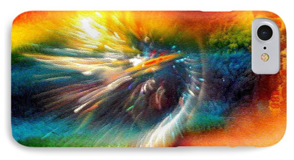 IPhone Case featuring the photograph Rainbow Bliss #053329 by Barbara Tristan