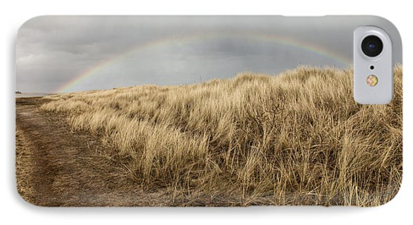 Rainbow By The Seaside IPhone Case by Mike Santis