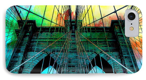 Rainbow Ceiling  IPhone Case by Az Jackson