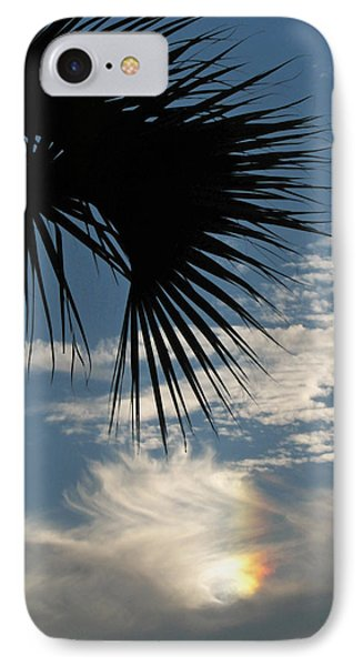 Rainbow Cloud IPhone Case by Peg Urban