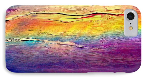 Rainbow Clouds Full Spectrum Phone Case by VIVA Anderson