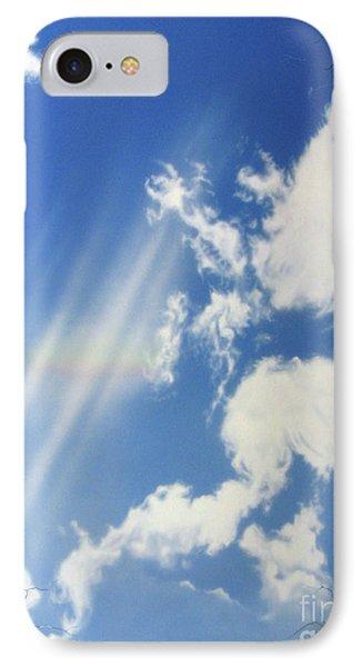 Rainbow-deception IPhone Case by Jurek Zamoyski