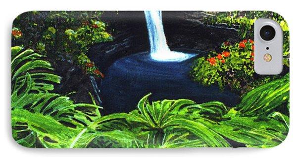Rainbow Falls #83 Phone Case by Donald k Hall