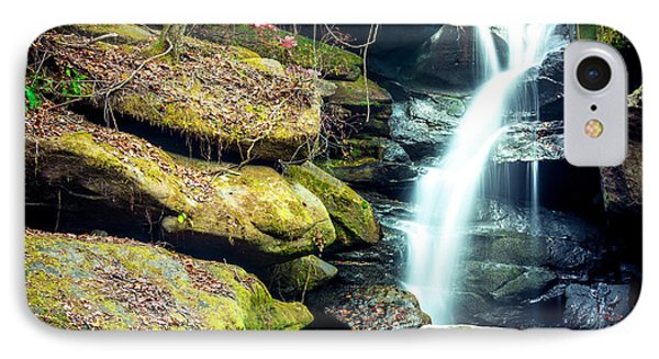 IPhone Case featuring the photograph Rainbow Falls At Dismals Canyon by David Morefield