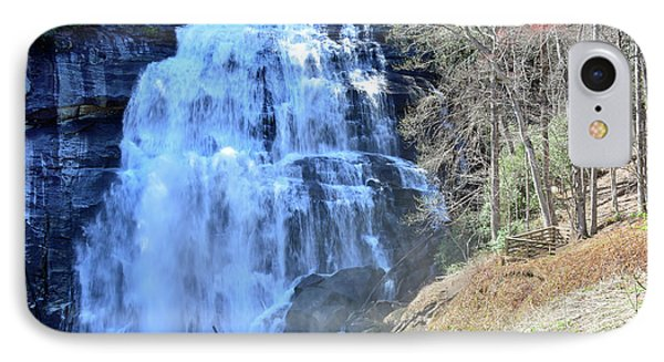 Rainbow Falls In Gorges State Park Nc 02 IPhone Case by Bruce Gourley