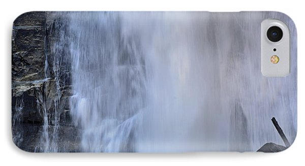 Rainbow Falls In Gorges State Park Nc IPhone Case by Bruce Gourley