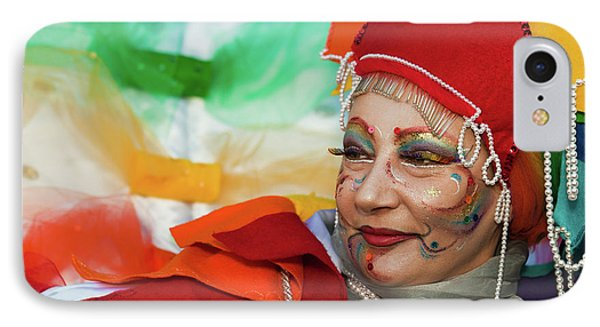 IPhone Case featuring the photograph Rainbow Lady by Stefan Nielsen