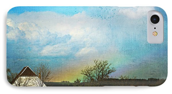 Rainbow Landscape IPhone Case by Heike Hultsch