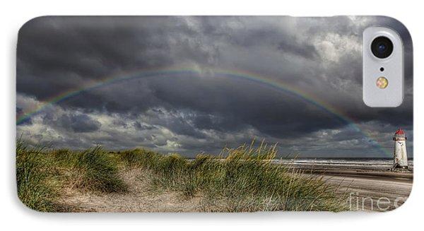 Rainbow Lighthouse Phone Case by Adrian Evans