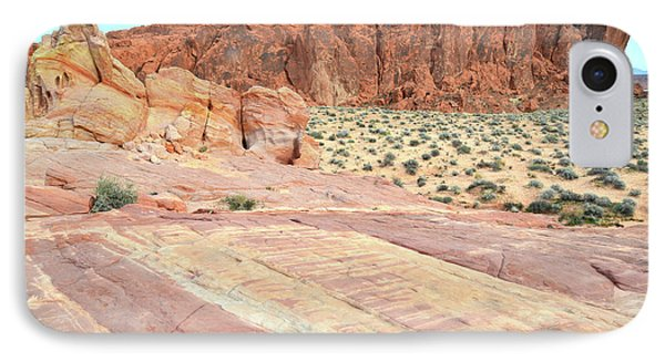 IPhone Case featuring the photograph Rainbow Of Color In Valley Of Fire by Ray Mathis
